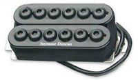 Microphone double, ici, un Seymour Duncan SH-8 Invader