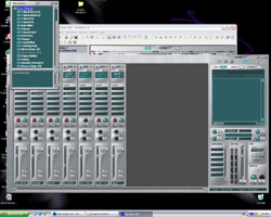 Interface PatchMix de l'E-MU Emulator X Studio