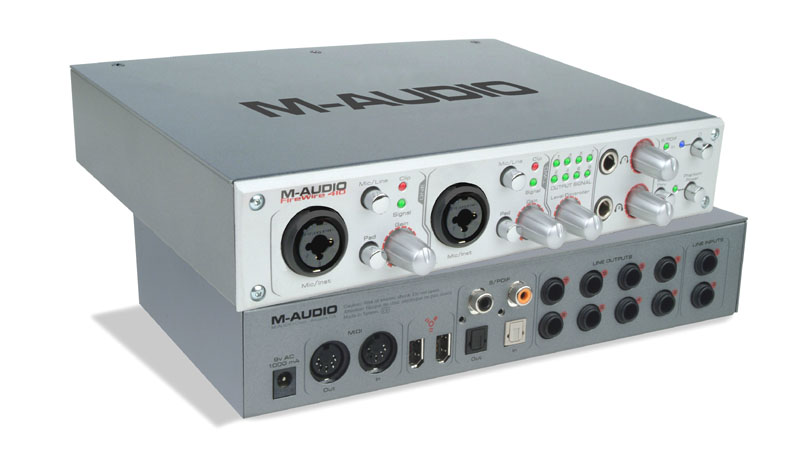 comment installer la m-audio firewire 410